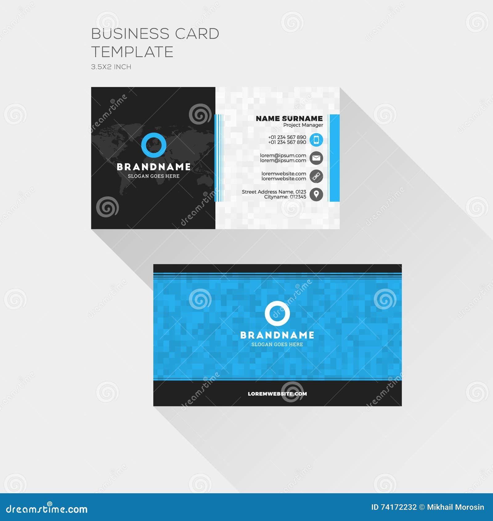 Calibre D Impression De Carte Entreprise Constituee En Societe Visite Personnelle W