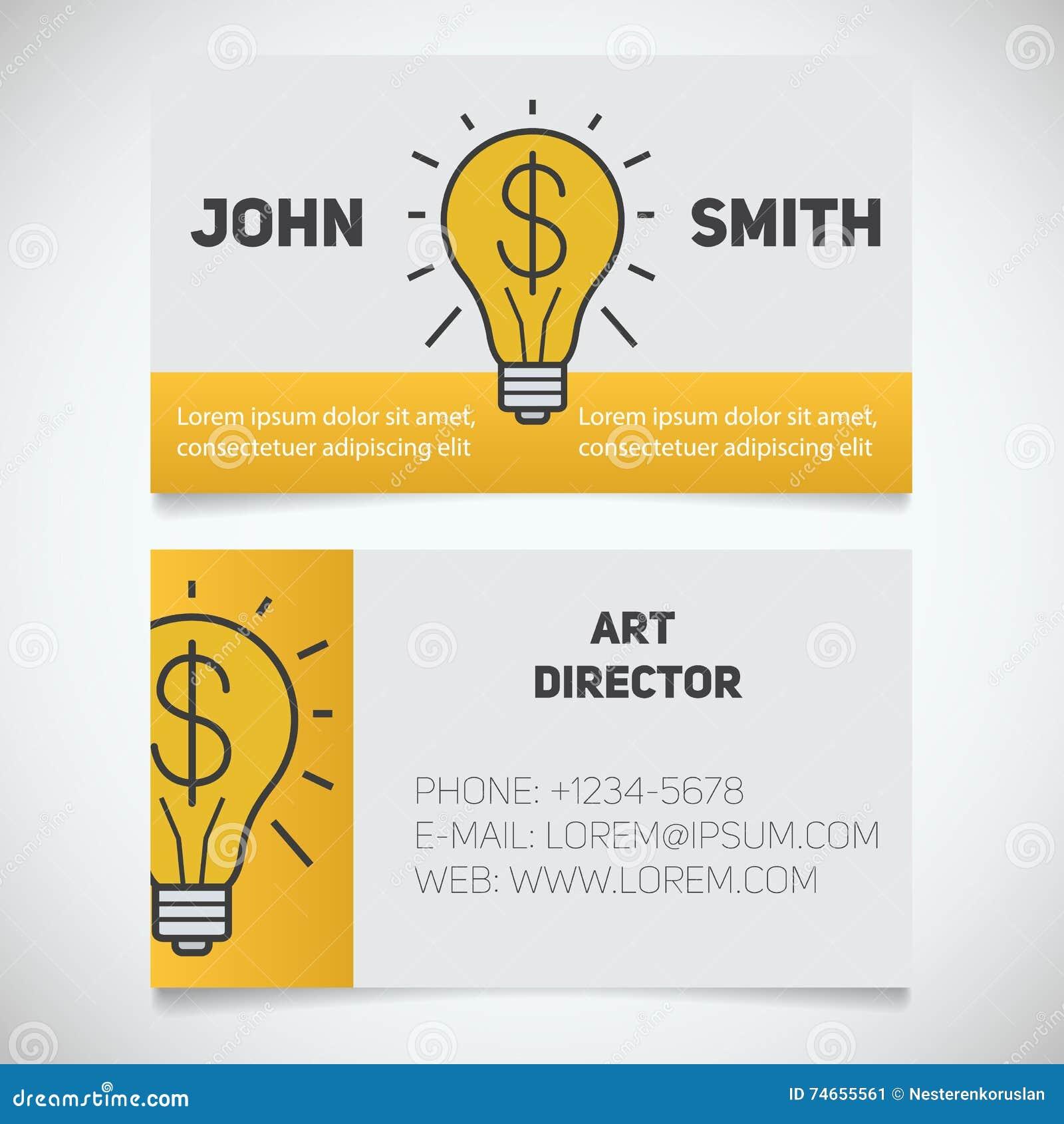 Calibre D Impression De Carte Visite Professionnelle Directeur Artistique