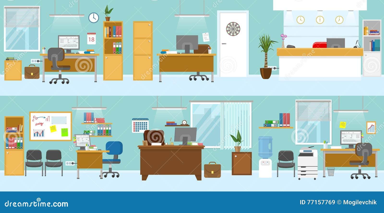 Calibre d intérieurs de bureau