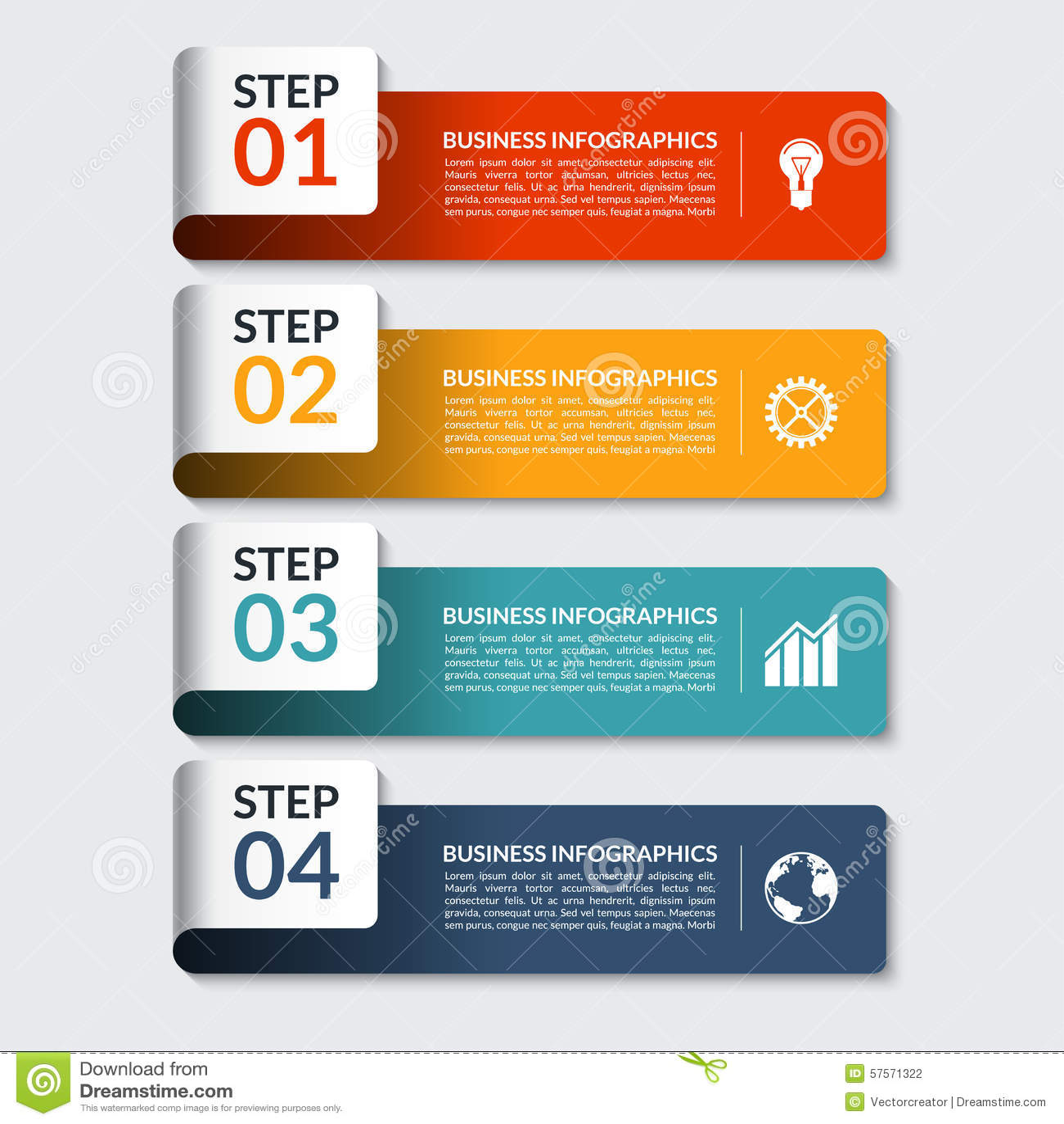 Calibre de bannières de nombre de conception d Infographic Peut être employé pour des affaires, présentation, web design