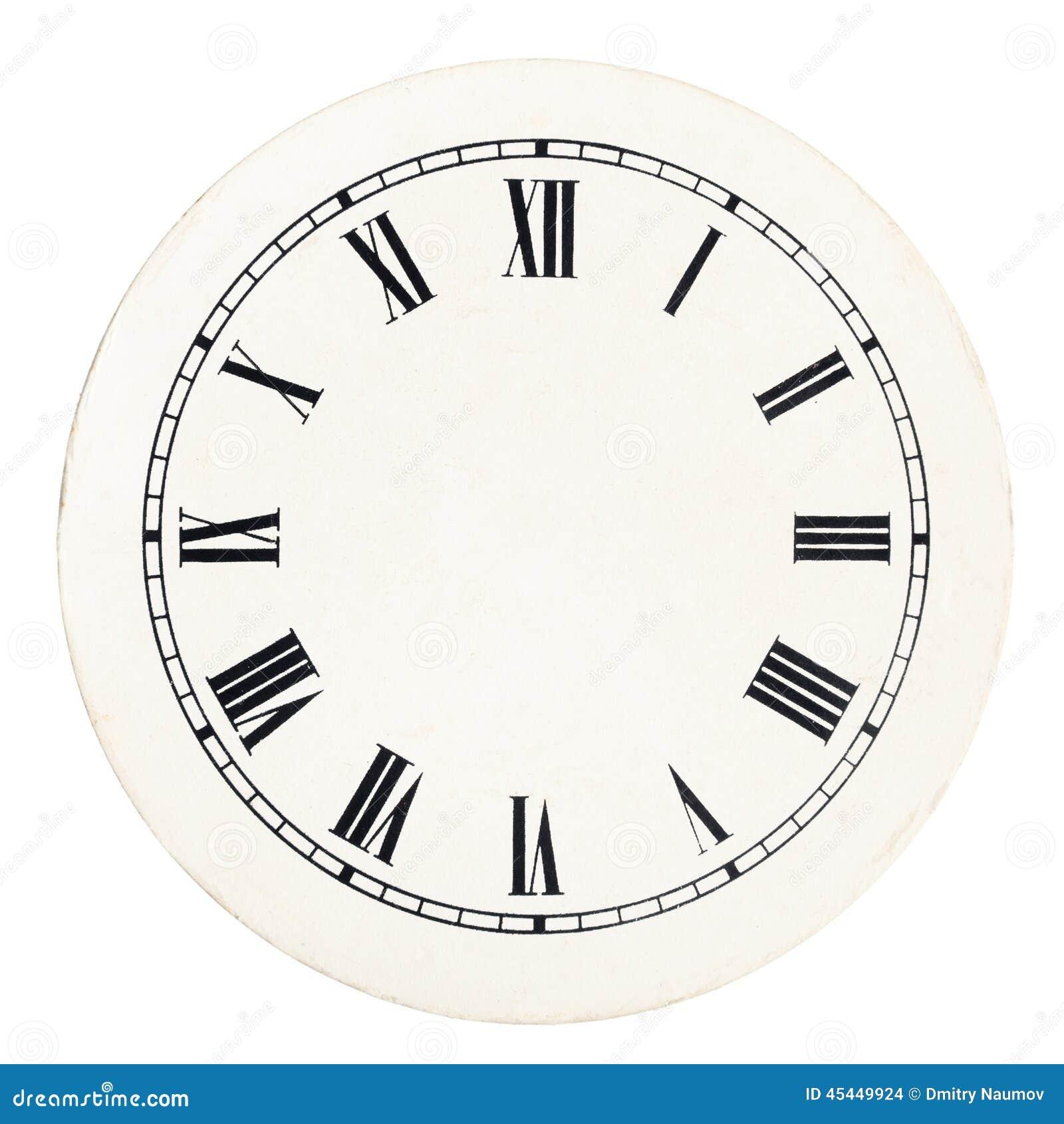 Calibre De Cadran D Horloge De Vintage Photo Stock Image