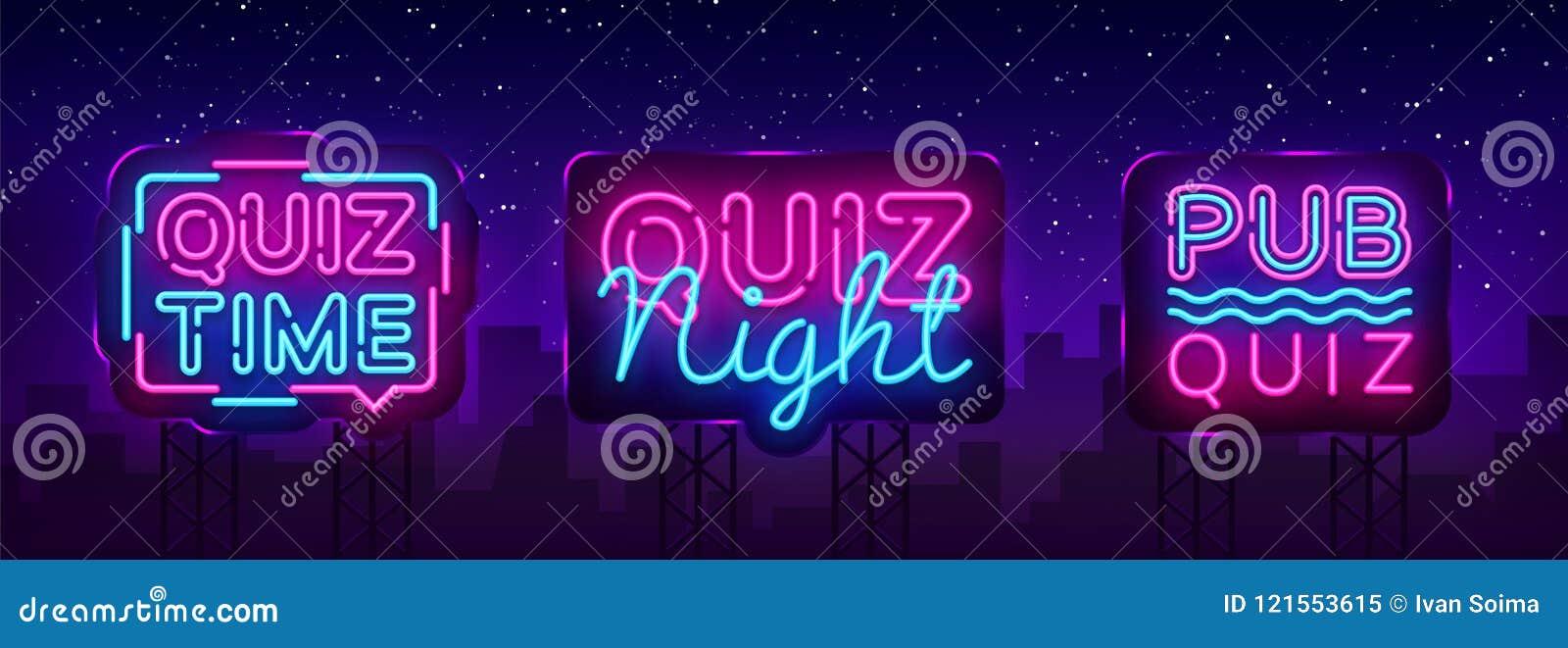 Calibre de conception de vecteur d affiche d annonce de collection de nuit de jeu-concours Enseigne au néon de nuit de jeu-concou