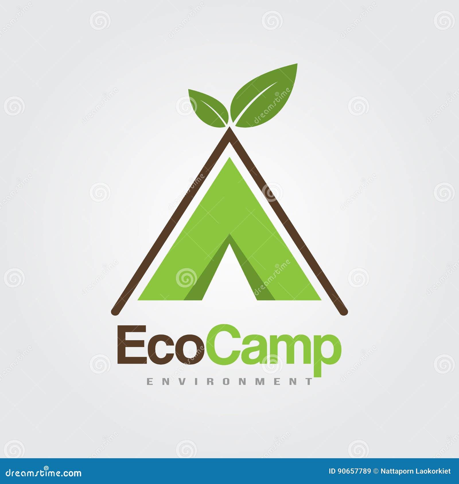 Calibre de logos de camp d Eco