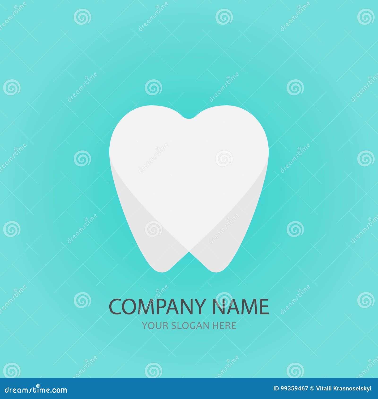 Calibre dentaire de logo de foyer, illustration de vecteur