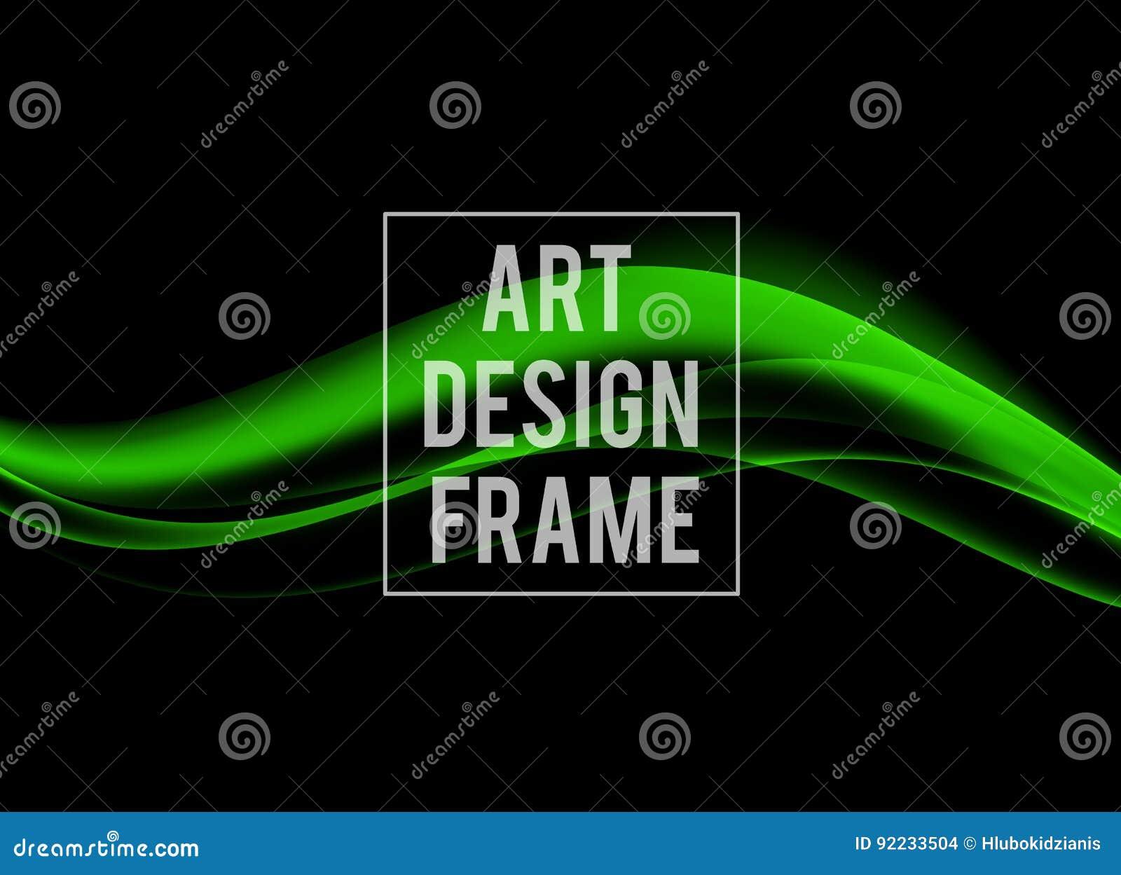 Calibre dynamique abstrait de conception d art