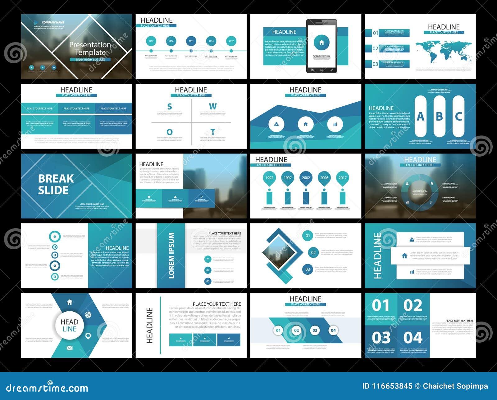Calibre infographic de présentation de 20 éléments de paquet rapport annuel d affaires, brochure, tract, insecte de publicité,
