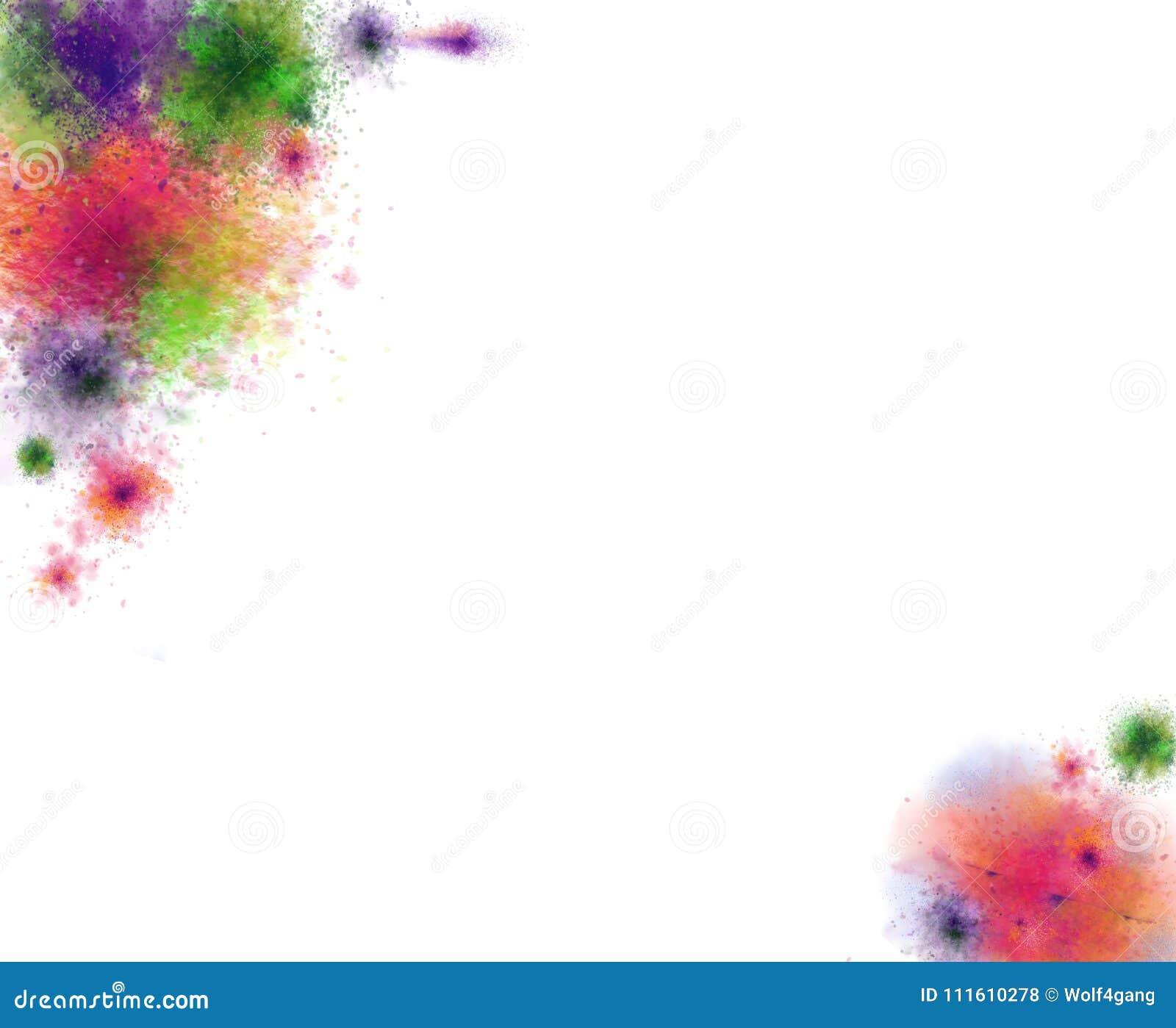 Calibre moderne abstrait de style d éclaboussure Courses abstraites tirées par la main de peinture Pour le fond, la copie, et la
