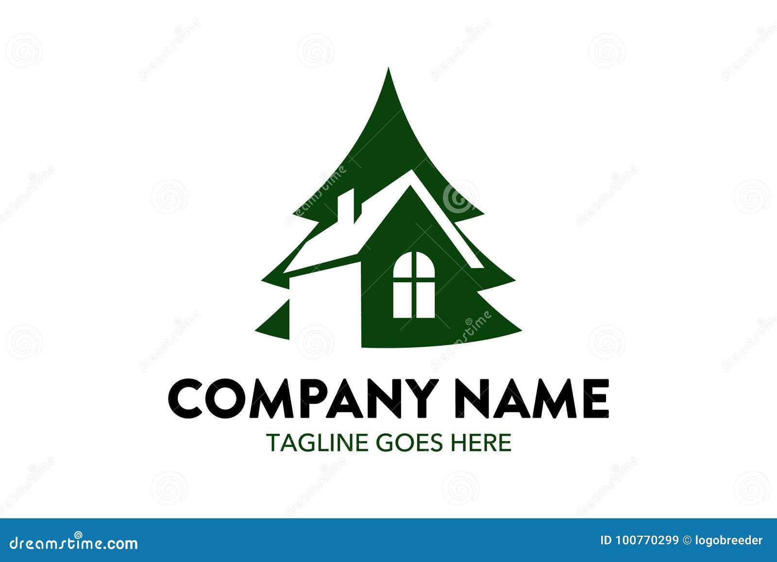 Calibre Résident De Logo Dappartement Unique De Maison
