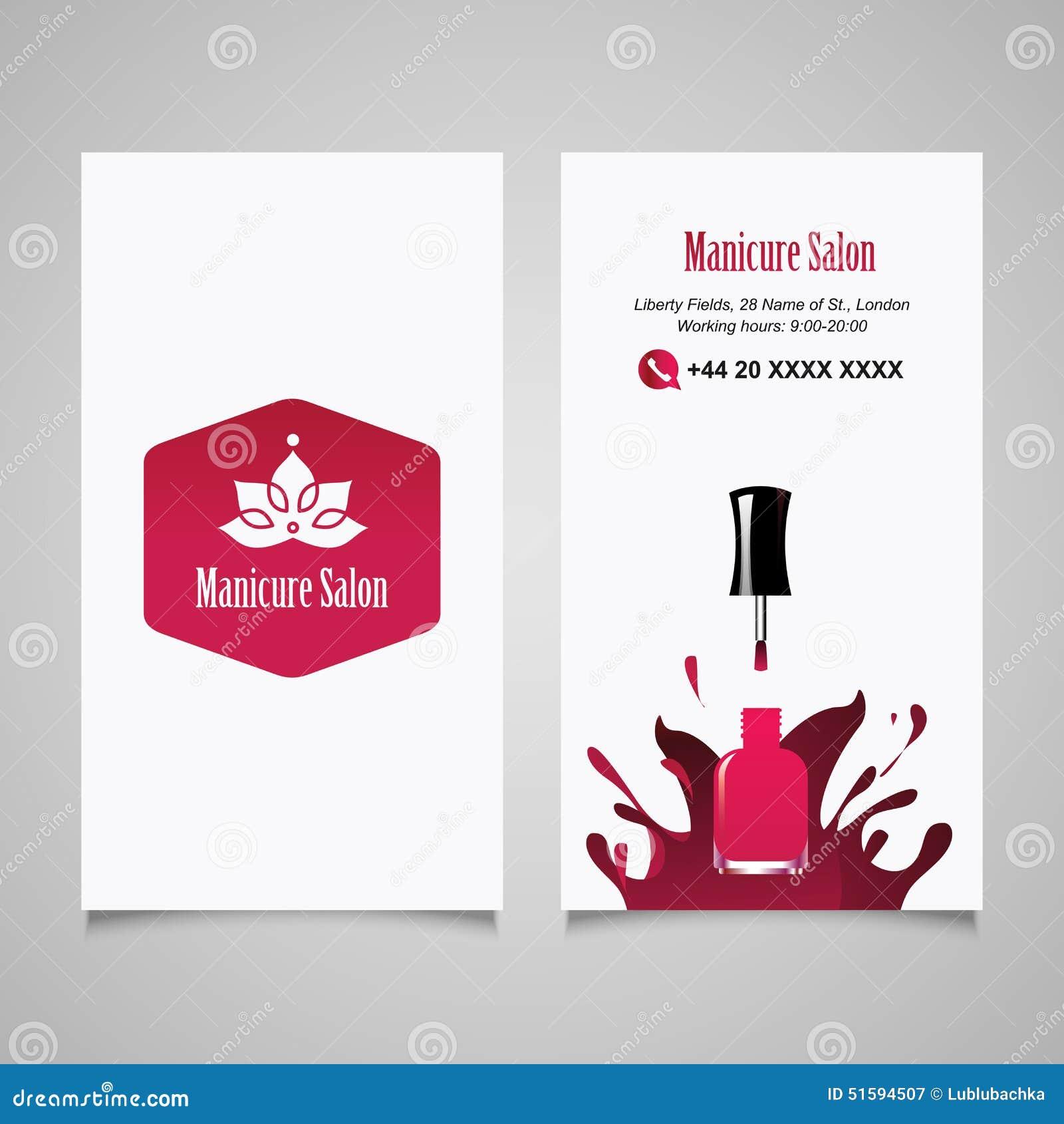 Barber logos business cards