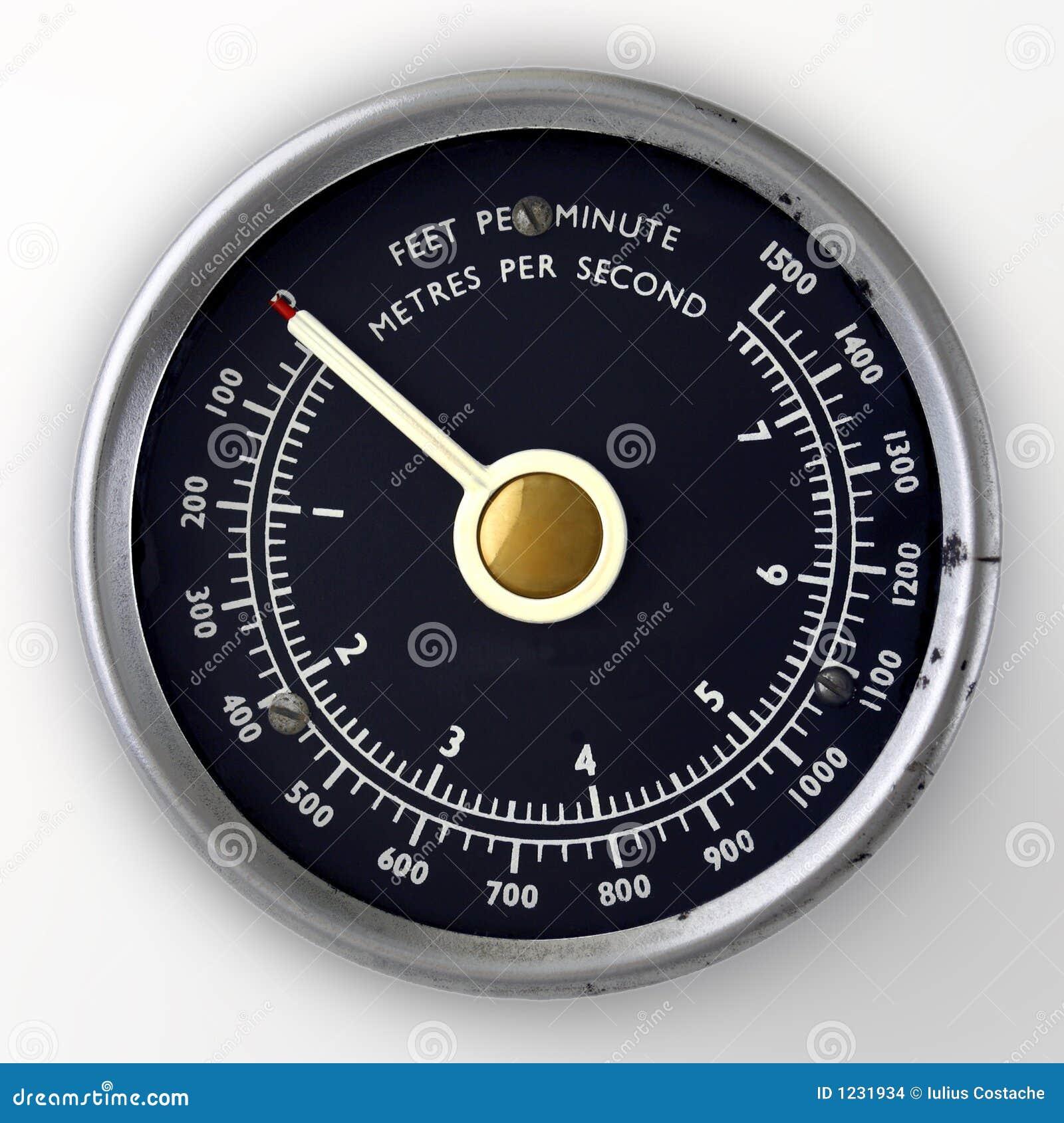 Calibro di velocità di aria