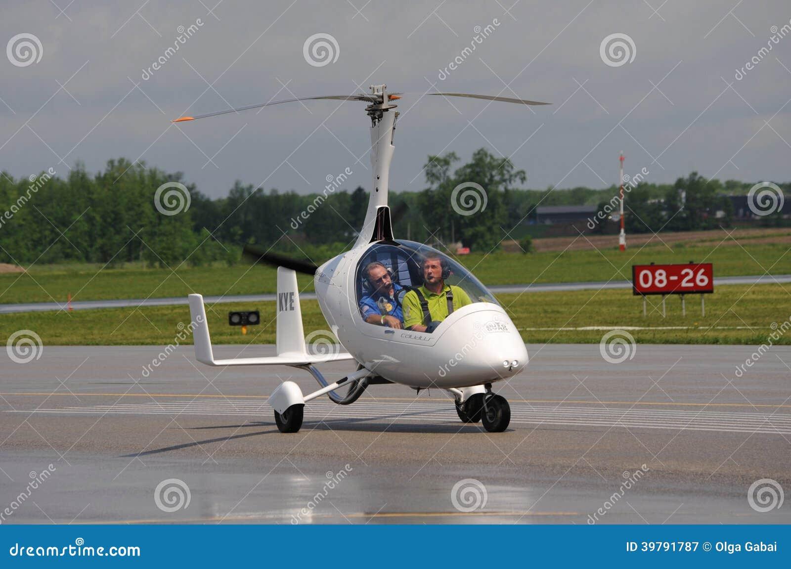 Calidus Gyroplane On Waterloo Airshow, Ontario, Canada