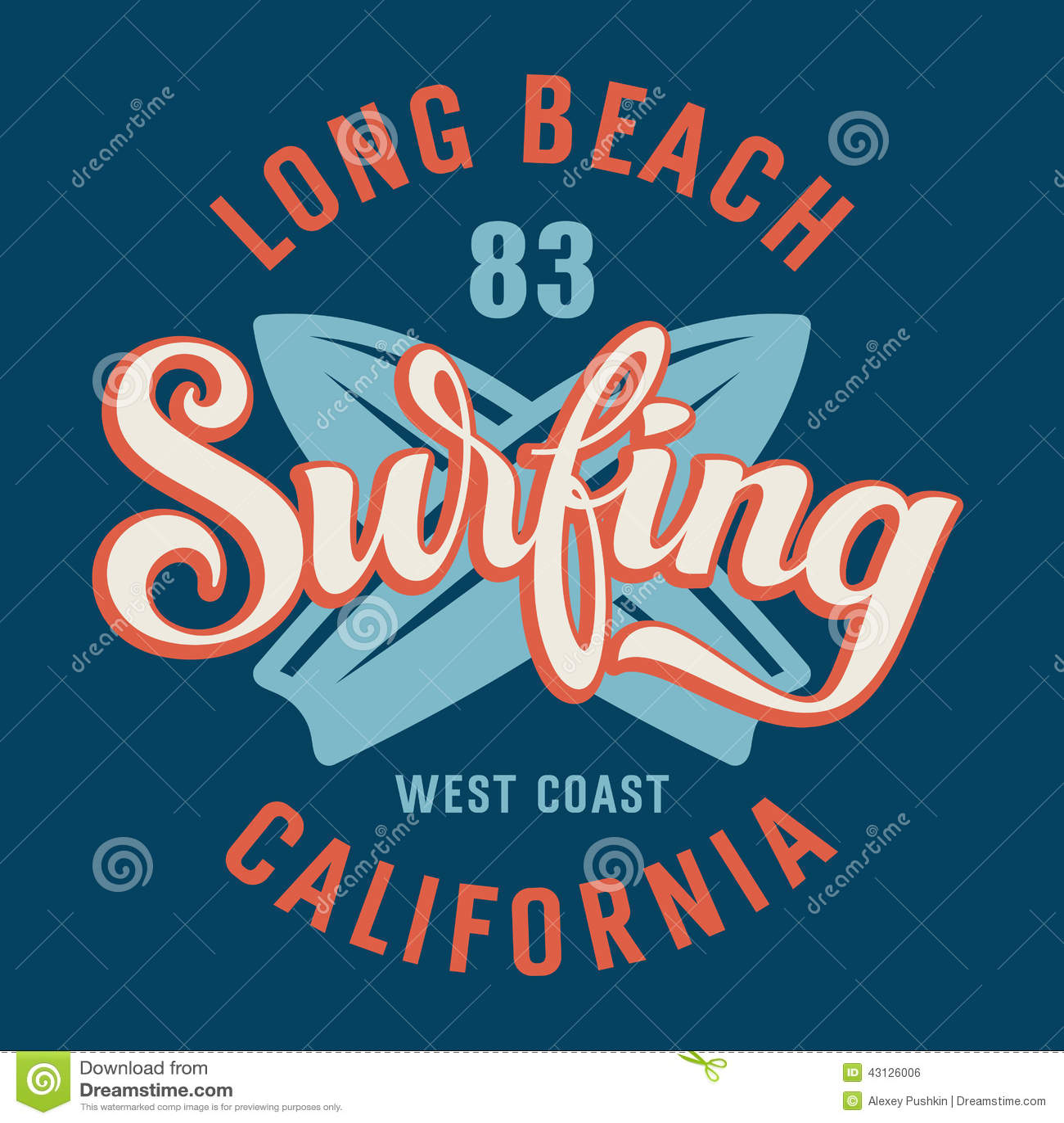 Califórnia surfando