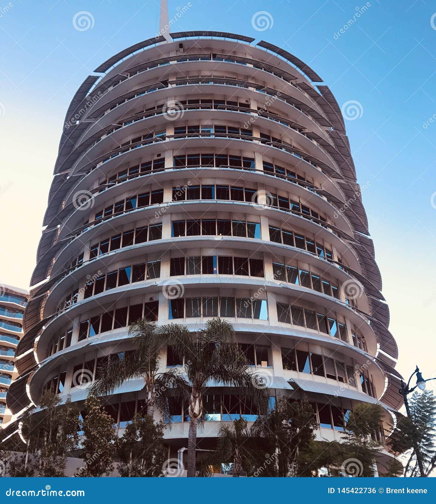Calif capital de Hollywood de disques