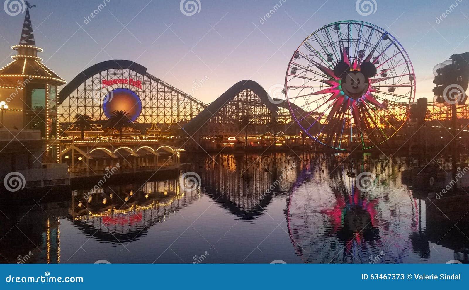 California Adventure Park in December