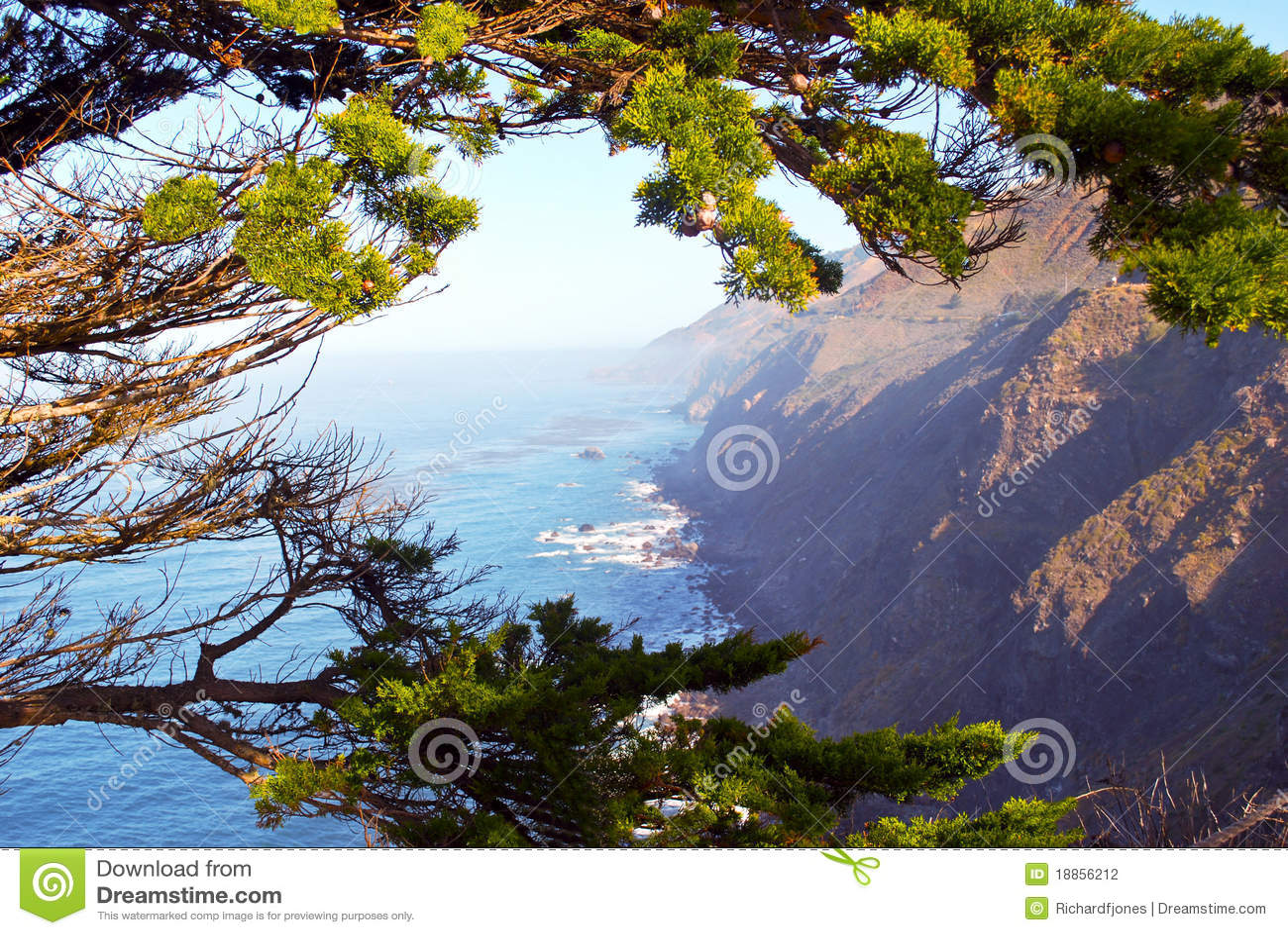 California carmel wybrzeże
