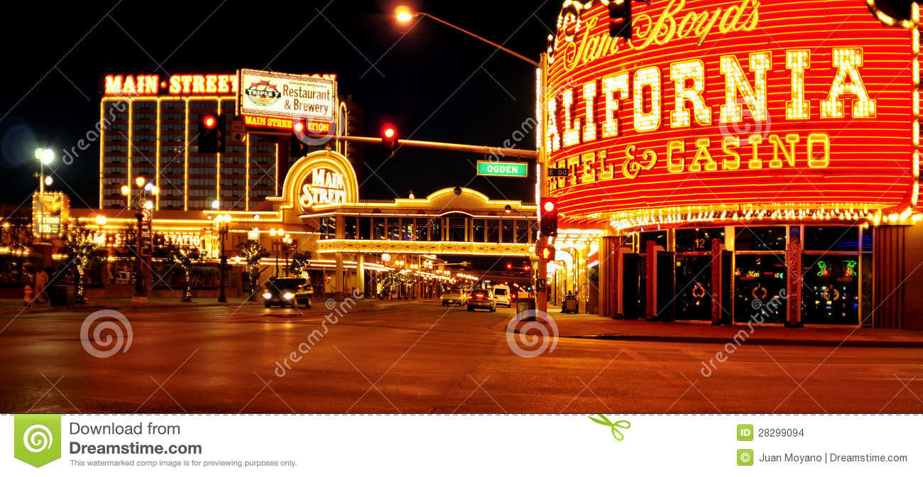 California Hotel And Casino In Las Vegas United States Editorial