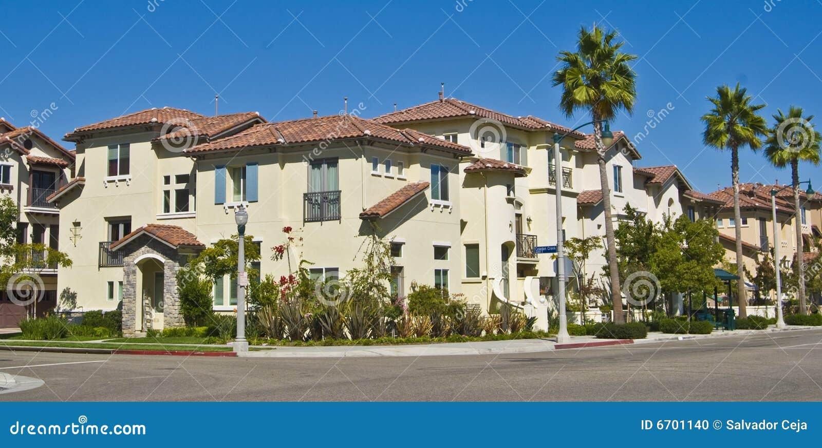 California Housing Stock Photo Image 6701140