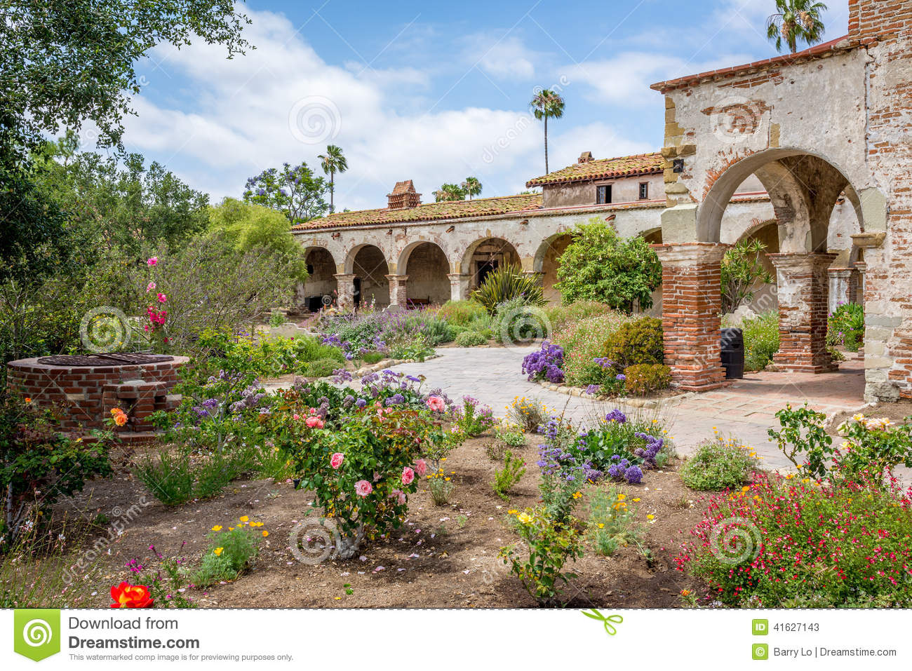 San juan capistrano garden tour garden ftempo for St patrick s church palm beach gardens