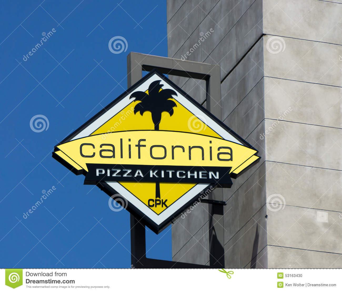 California Pizza Kitchen Logo California Pizza Kitchen Editorial Image  Image 53163430