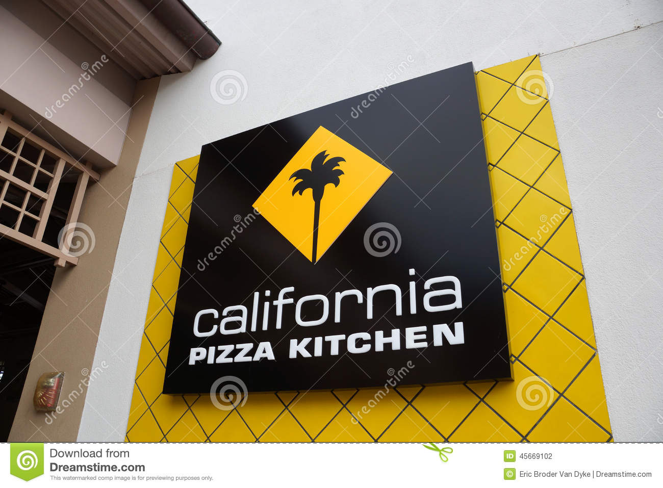 California Pizza Kitchen Logo Of Food Establishment At The Ala M