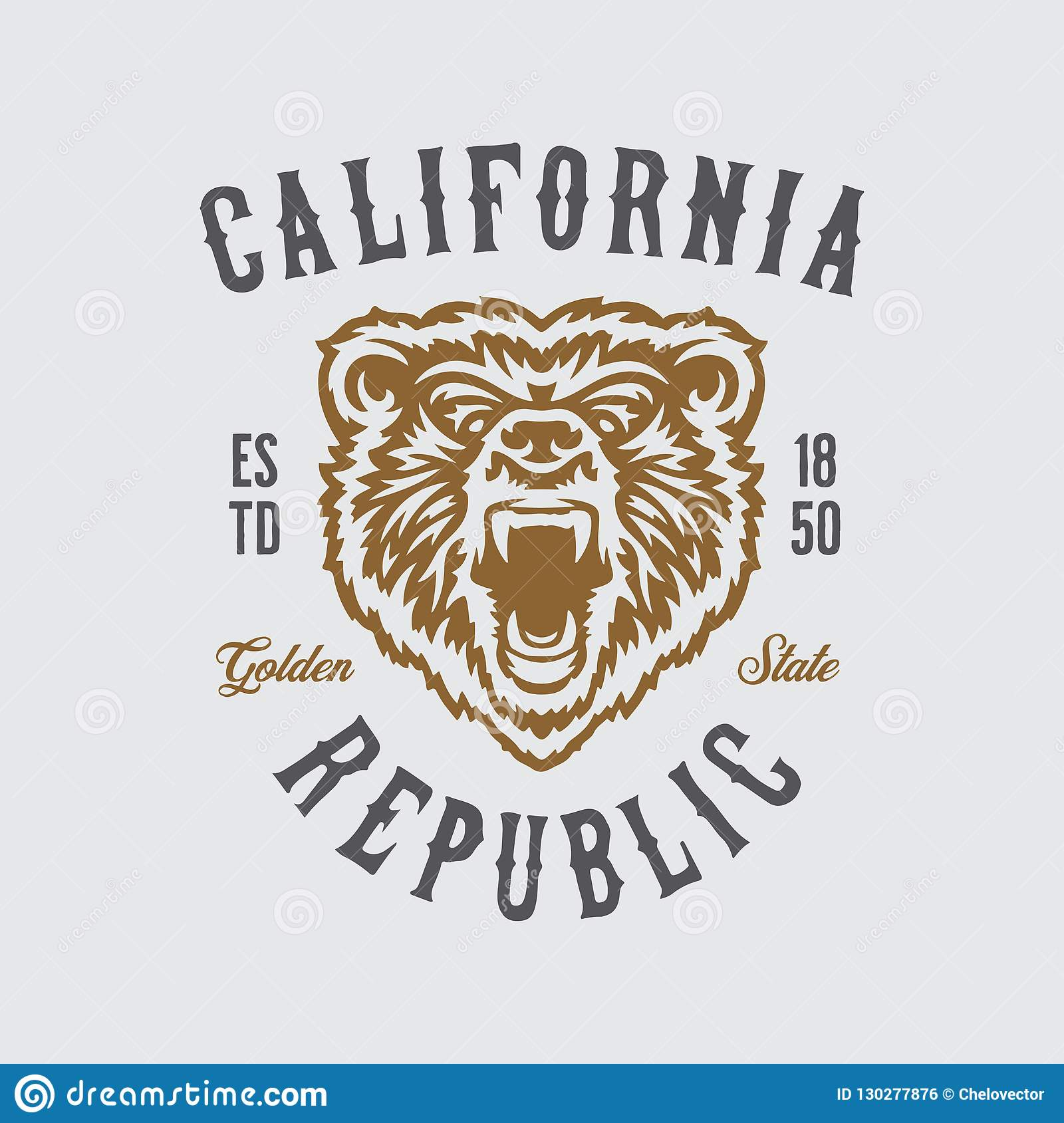 Cali Shirt Bear Head