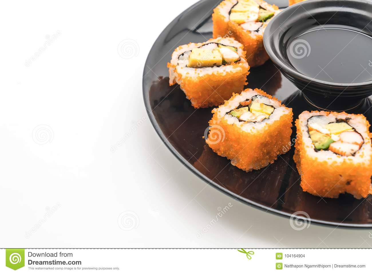 California sushi roll diet
