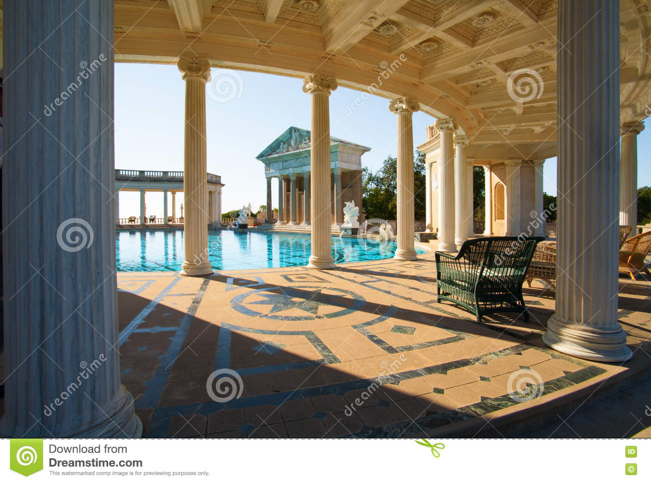 California Usa November 19 2008 Hearst Castle Editorial Stock Image Image 72889789