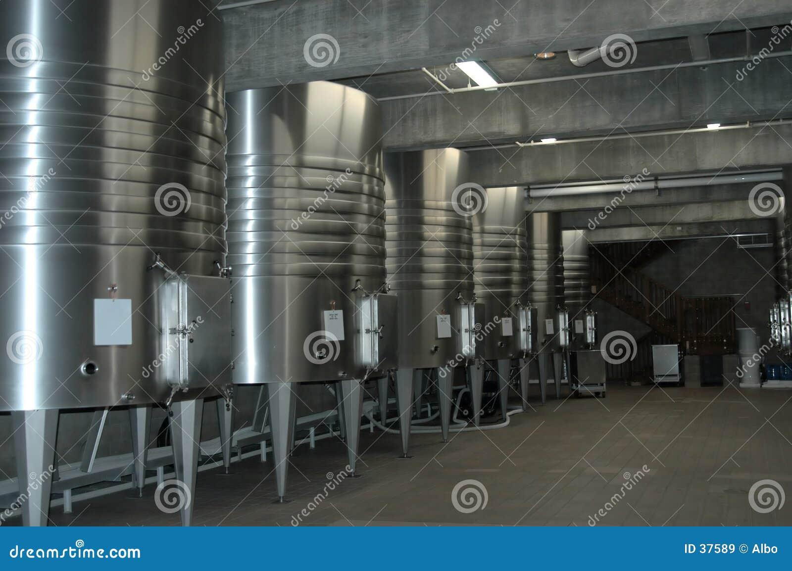 Californische wijnkelder