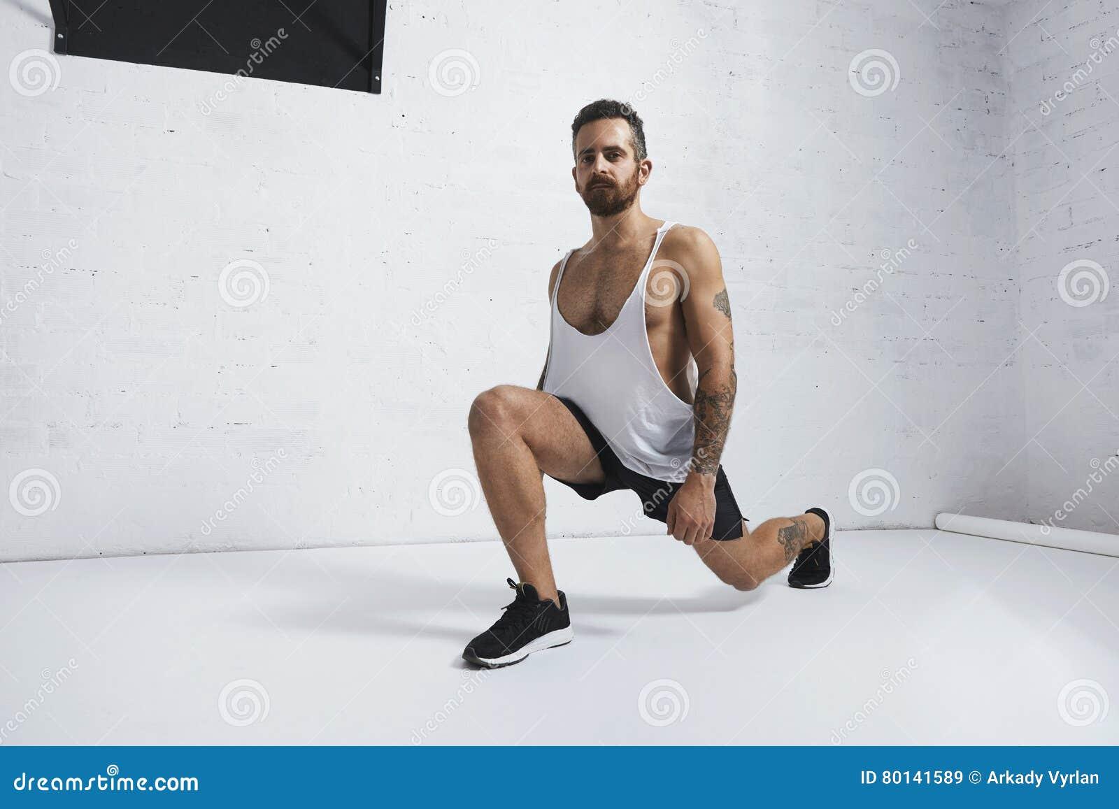 Calisthenic And Bodyweight Exercises Stock Image - Image of