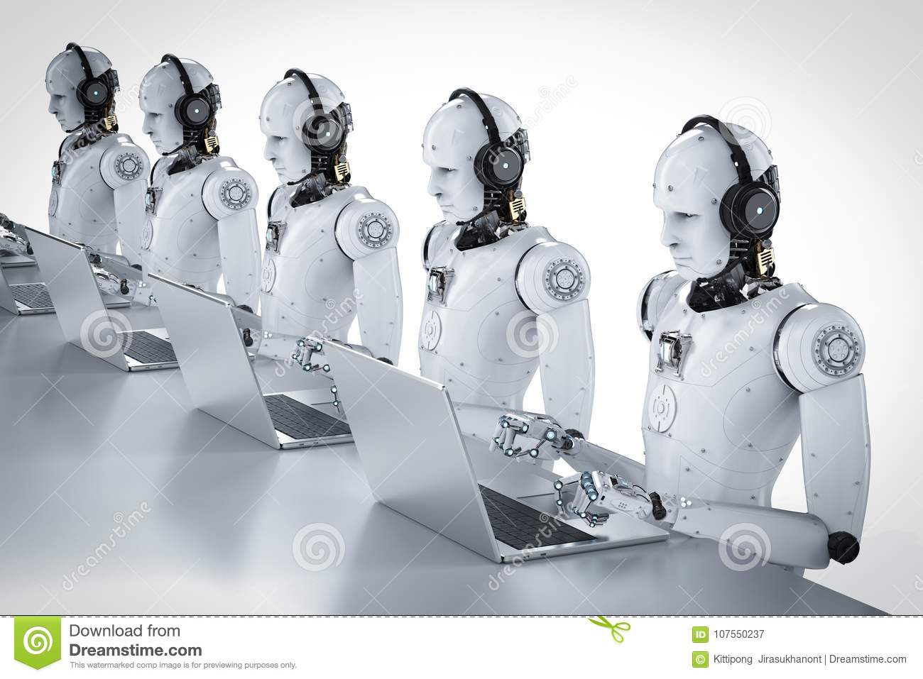 Call center dei robot