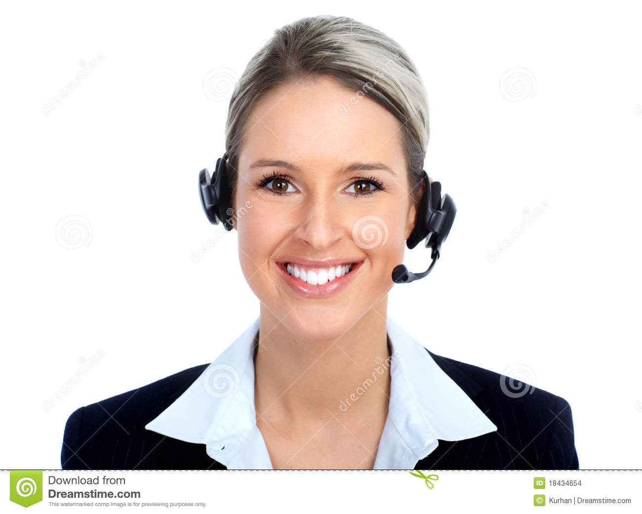 Call Center Operator Stock Images - Image: 18434654