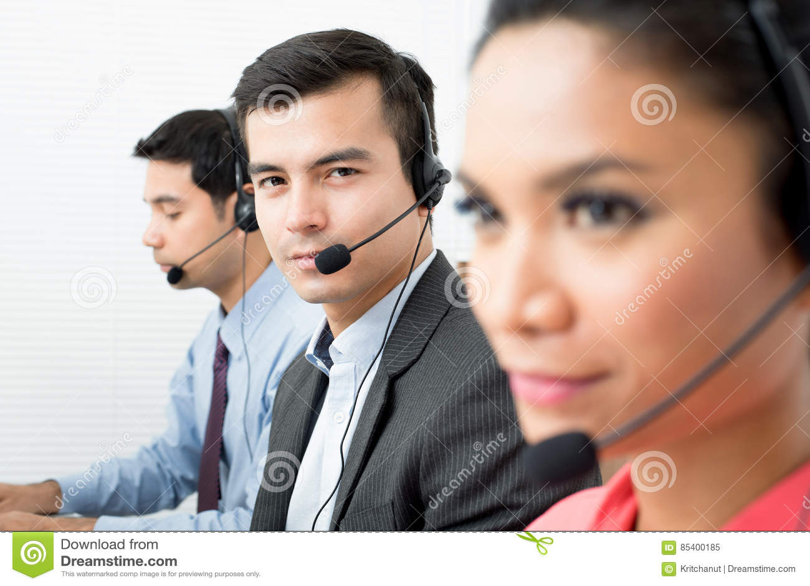 Call-Center Telemarketerteam
