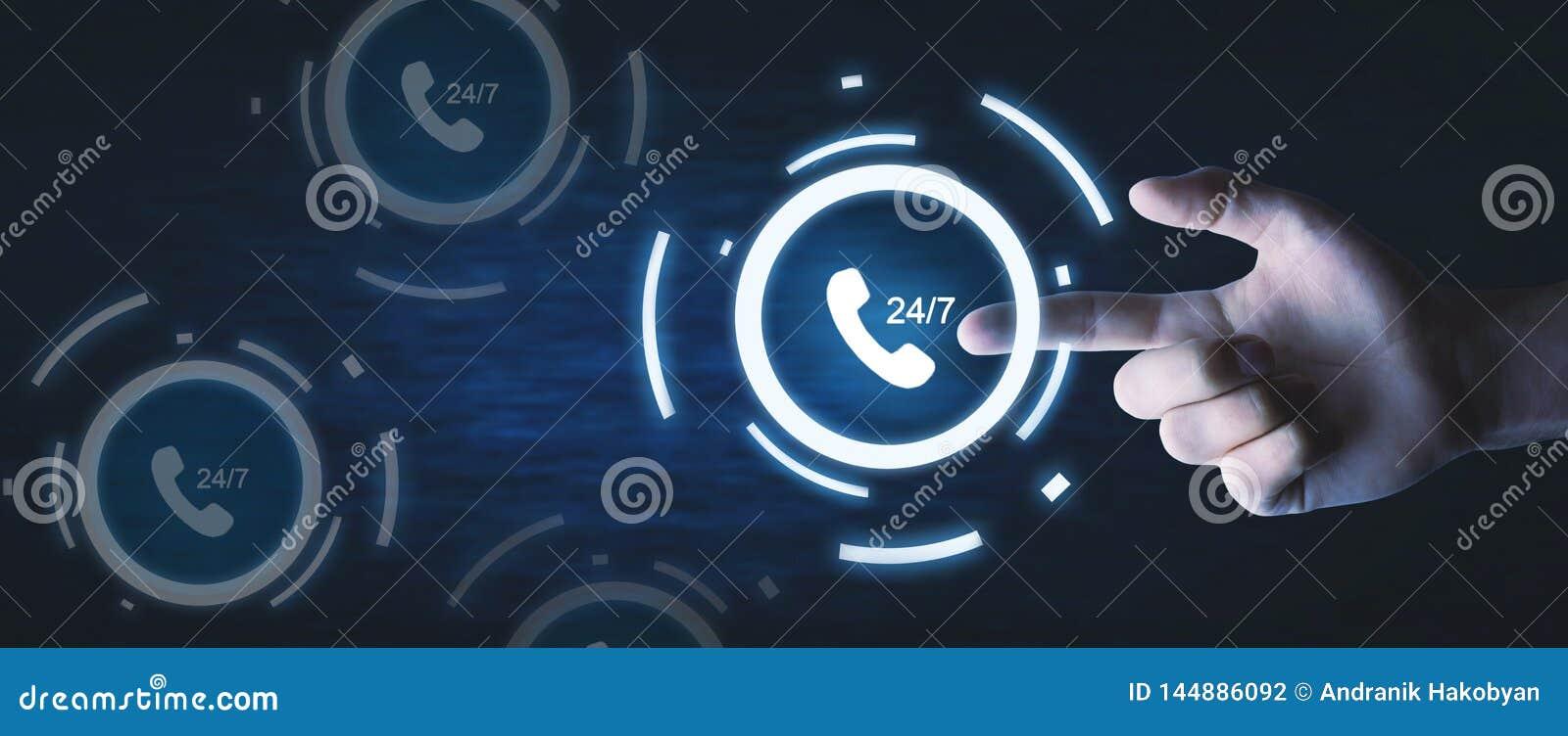 Call. 24/7 hour customer service