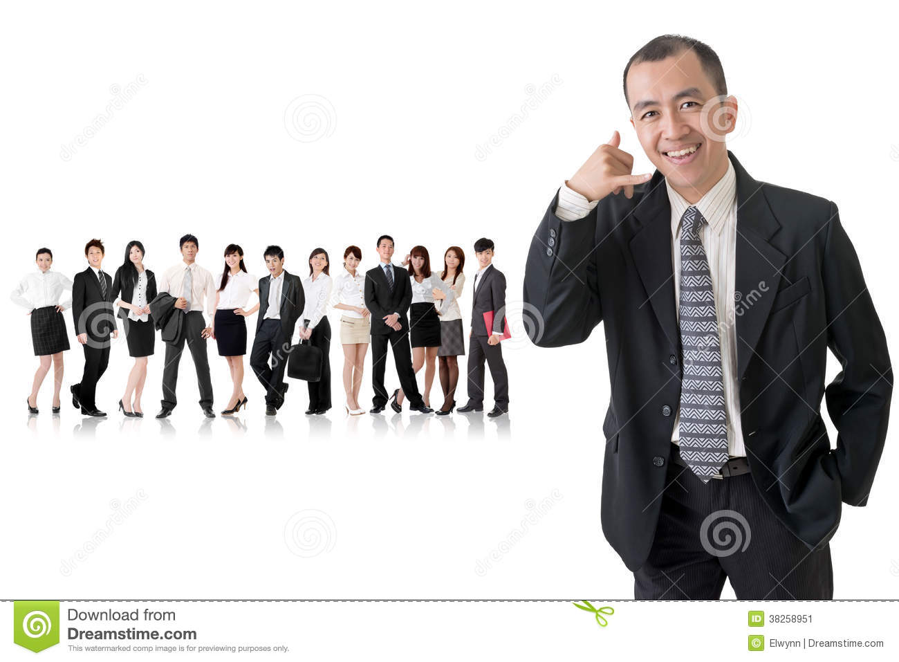 Call Me Gesture Stock Image - Image: 38258951