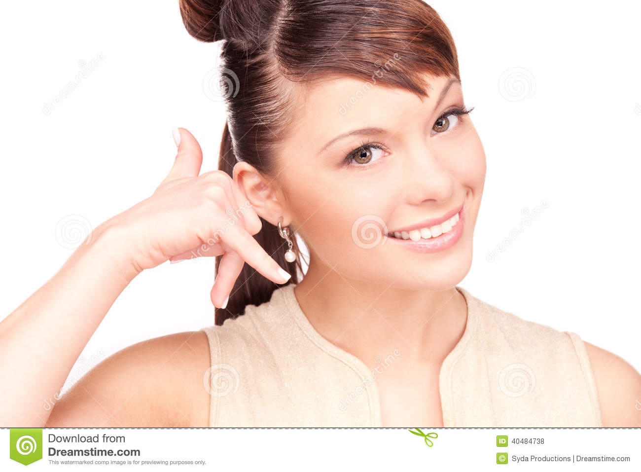 Call Me Stock Photo - Image: 40484738