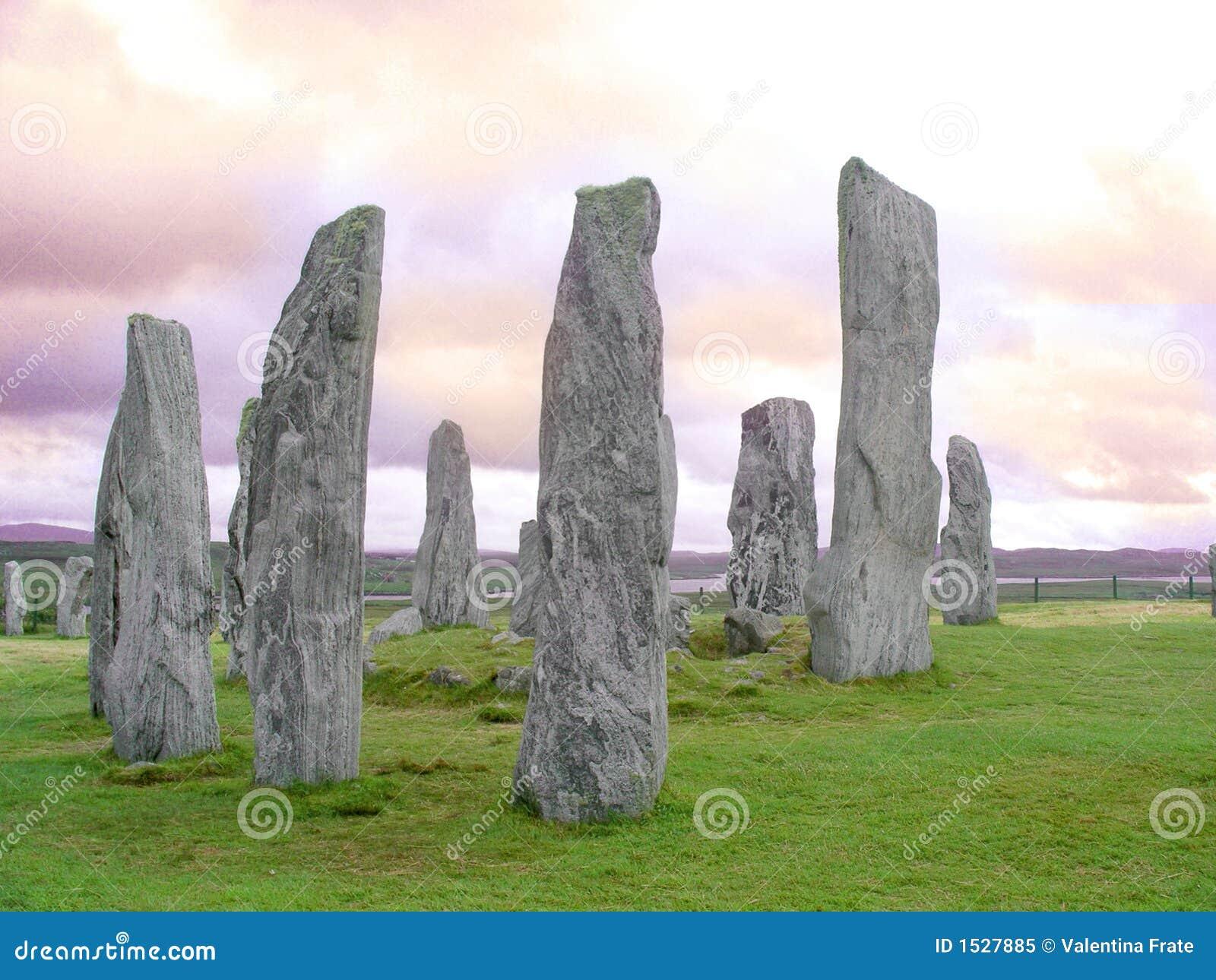 Callanish μόνιμες πέτρες