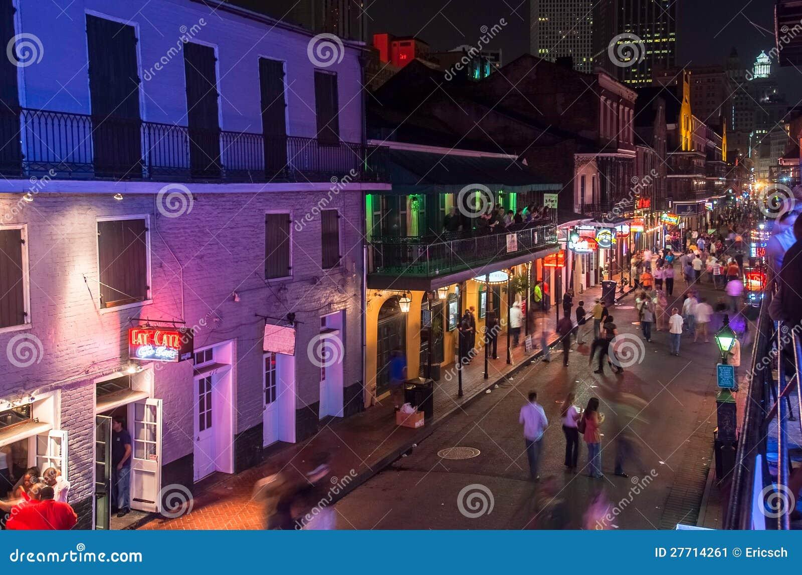Bourbon Street: La calle ms famosa de Nueva Orleans