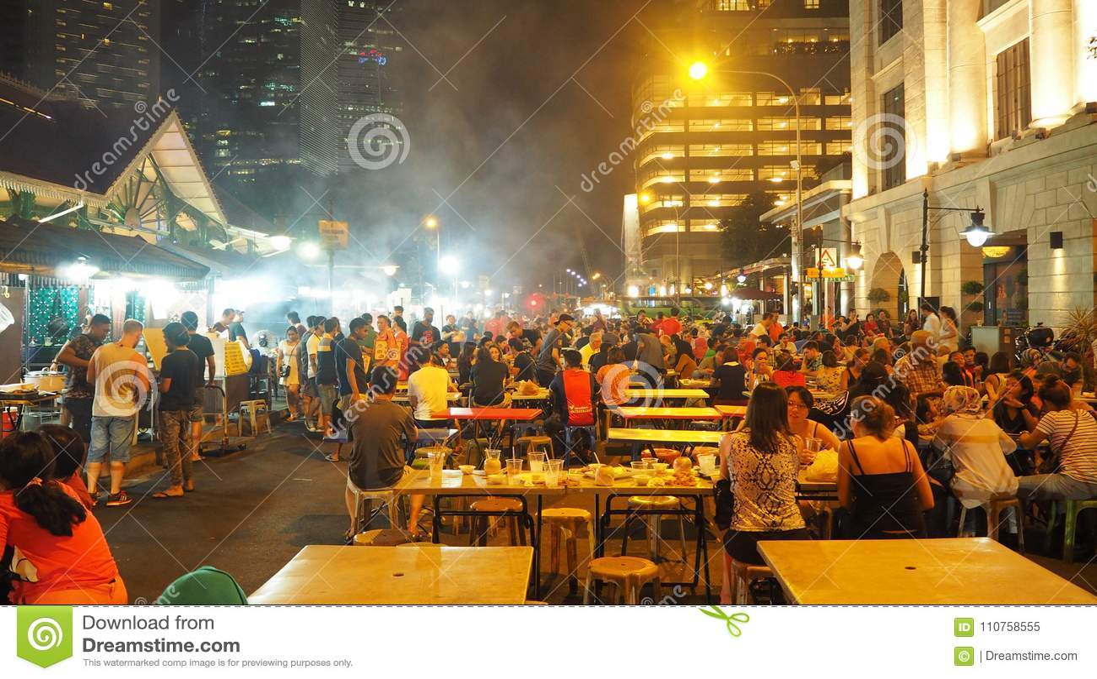 Que comer de noche en singapur