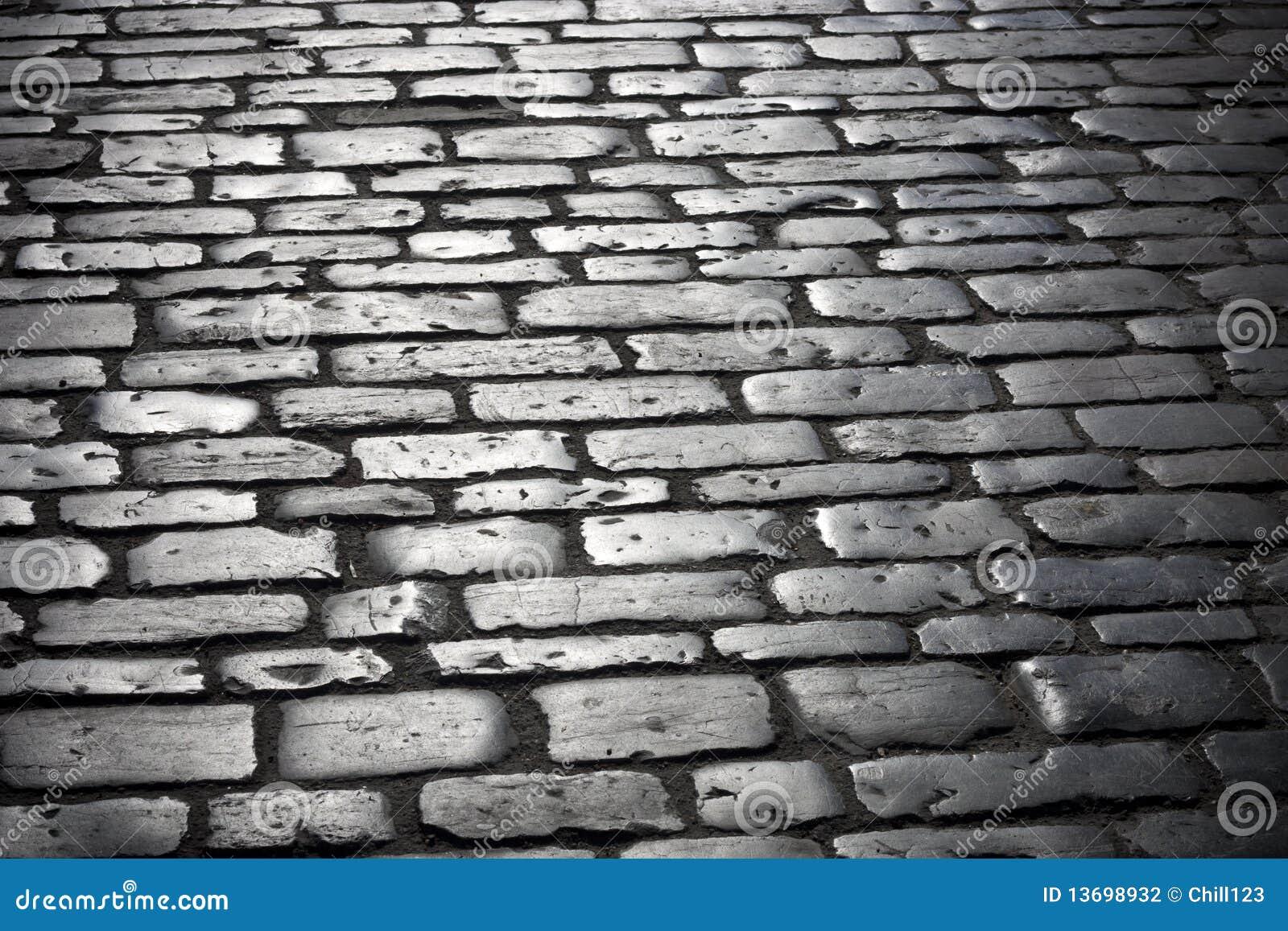 Calle de los adoquines foto de archivo imagen de piedra for Adoquines de piedra precios