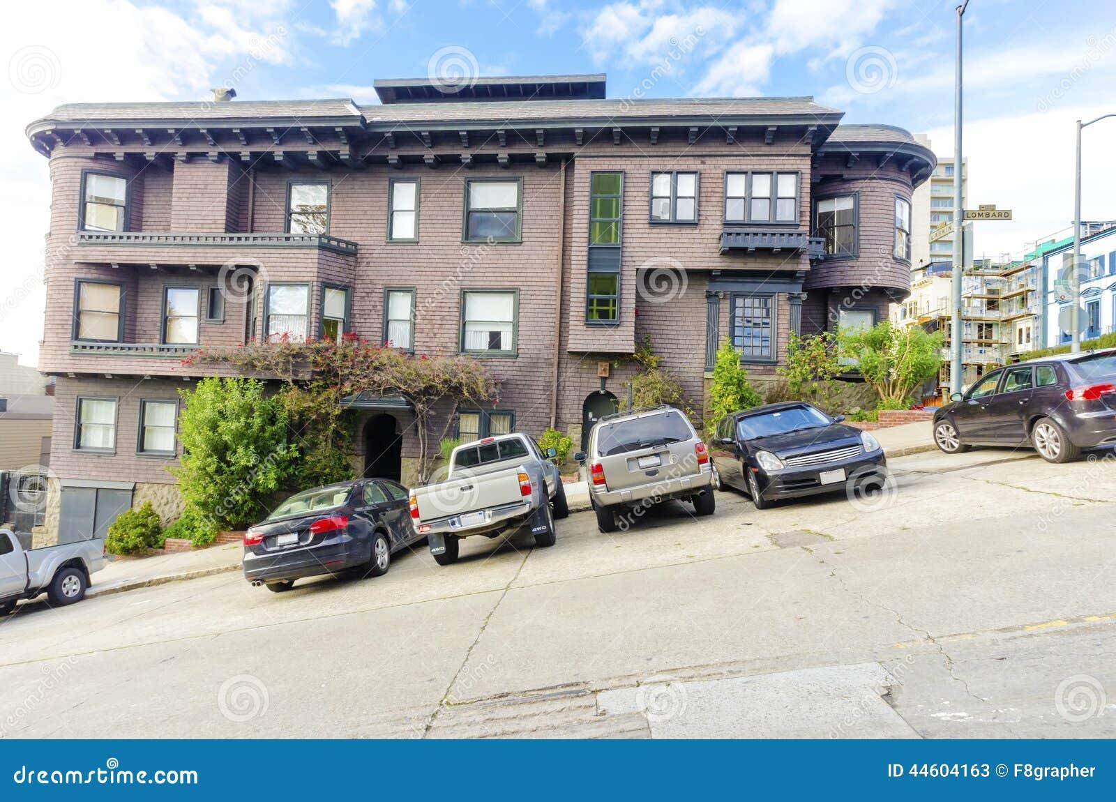 calle de san francisco imagen de archivo imagen de contraste 44604163. Black Bedroom Furniture Sets. Home Design Ideas
