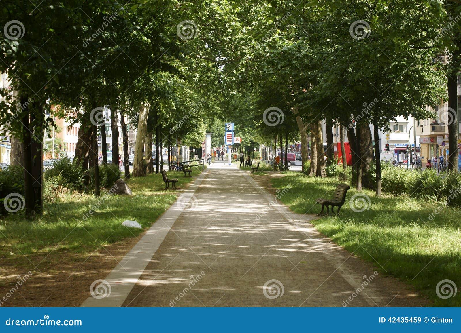 Calle de Varsovia de la calzada