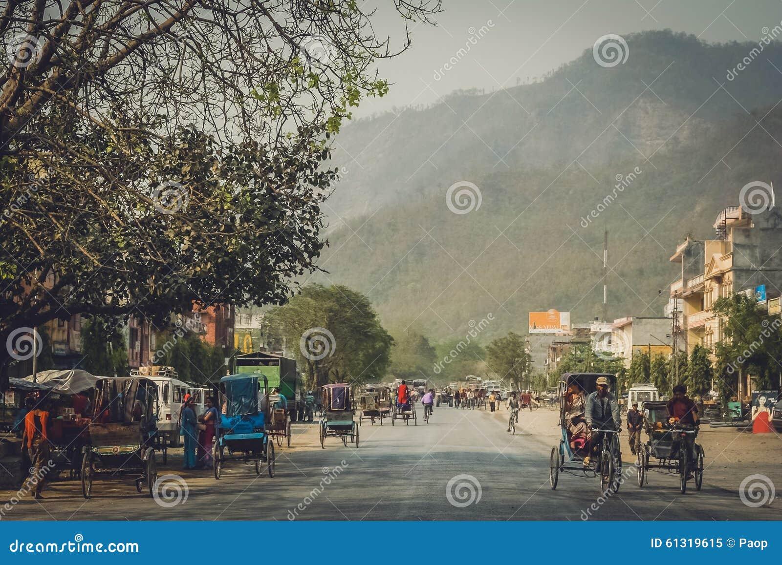 Calle en Butwal