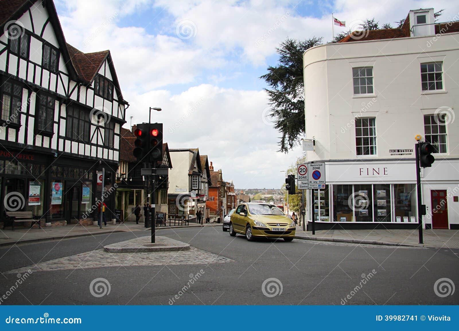 Calle en Colchester