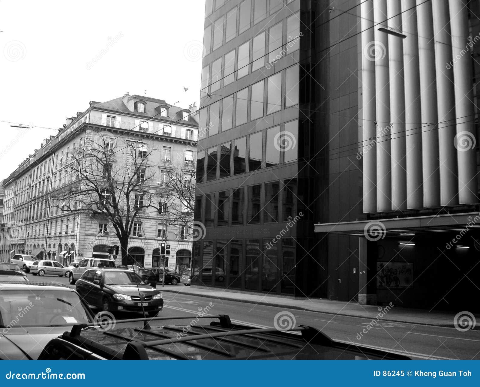 Calle en Ginebra