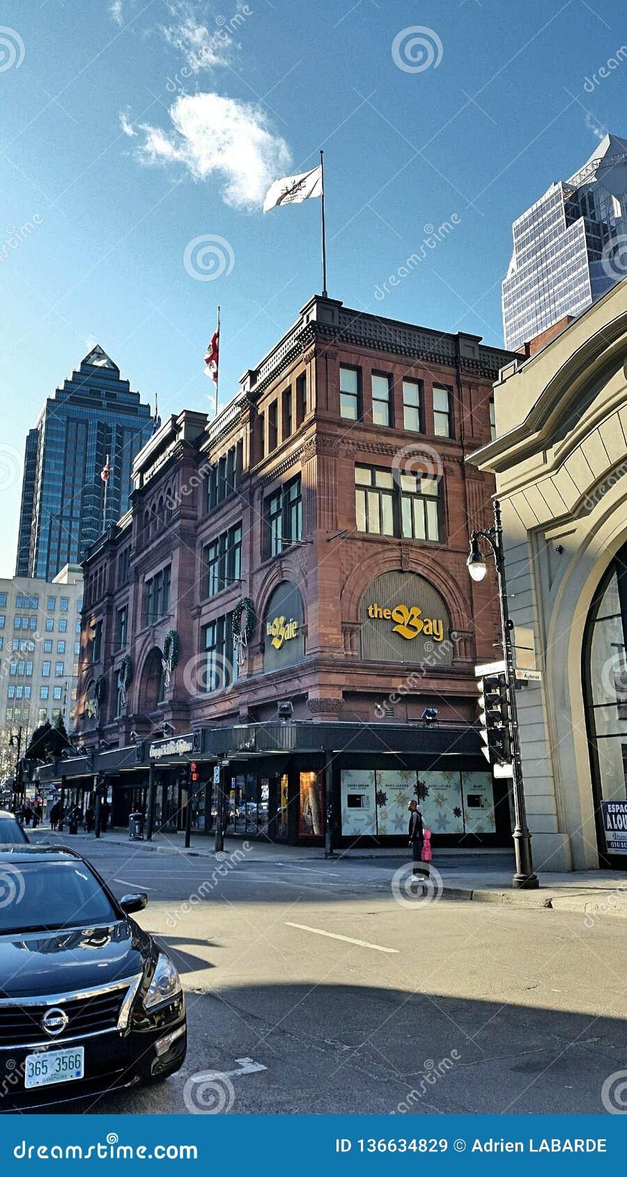 Calle en Montréal Quebec