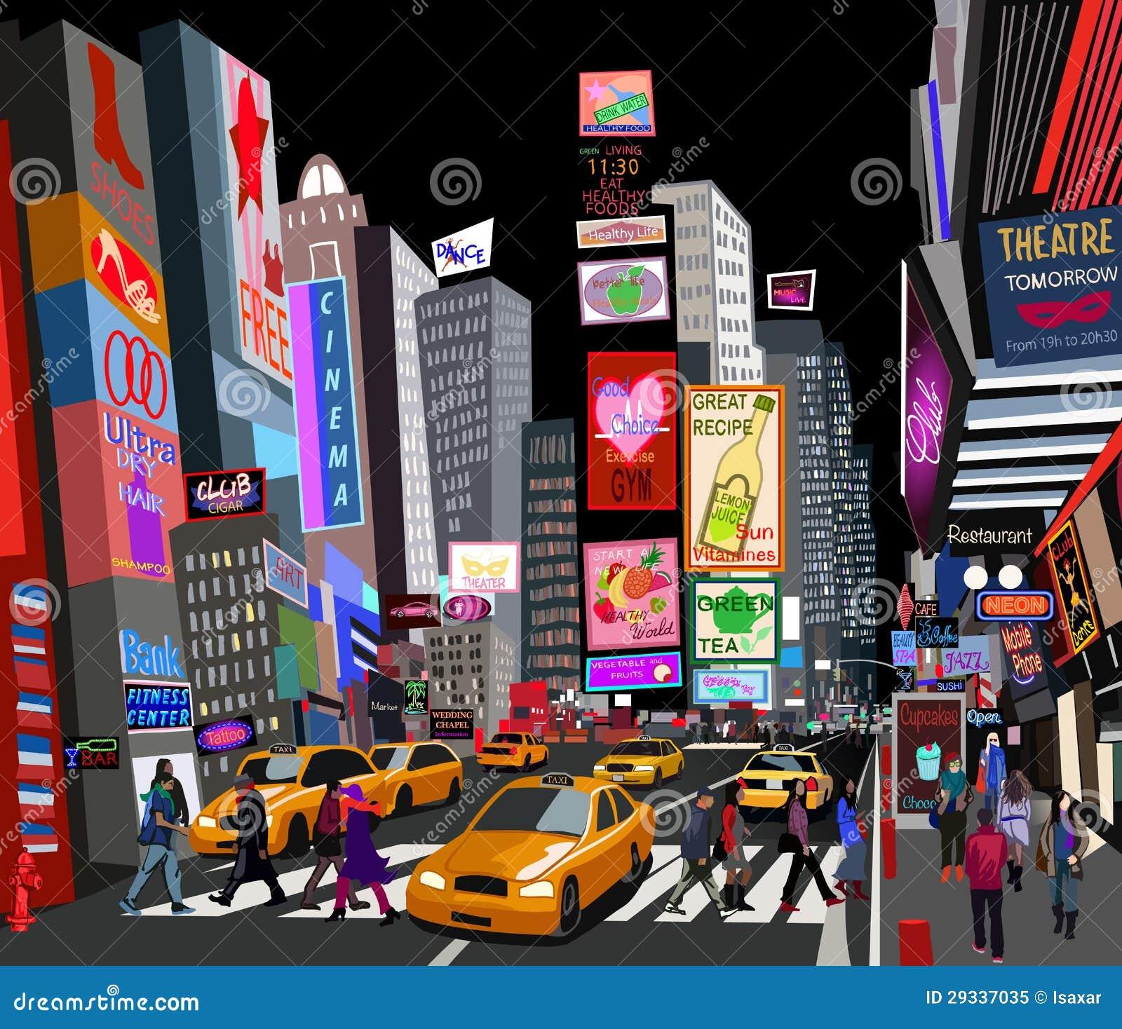 Calle en New York City