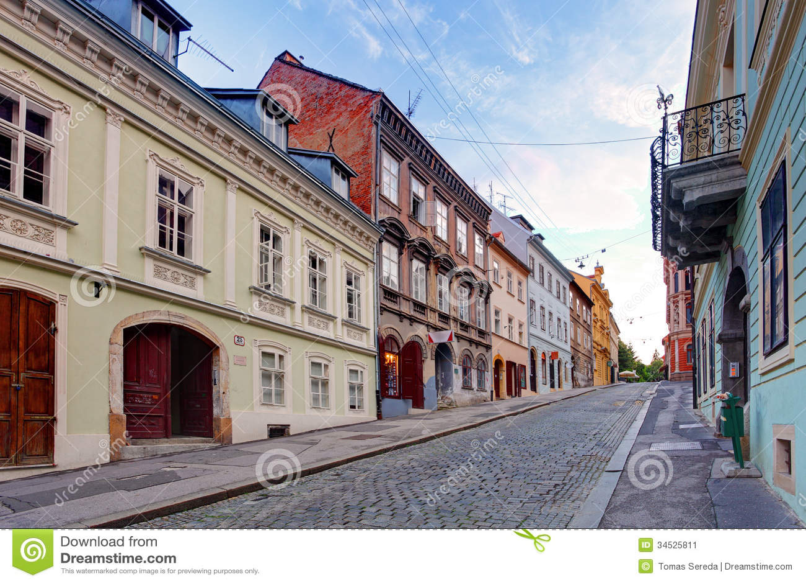 Calle en Zagreb