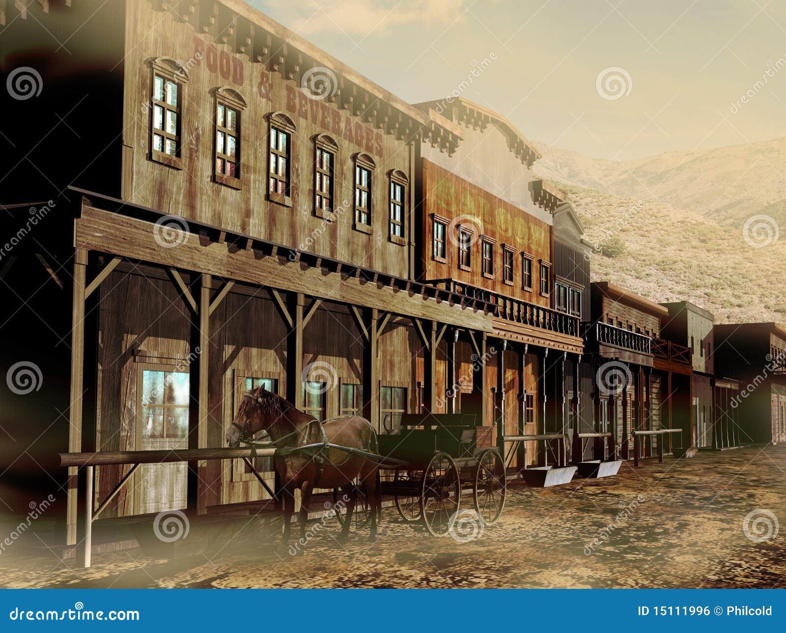 Calle occidental vieja