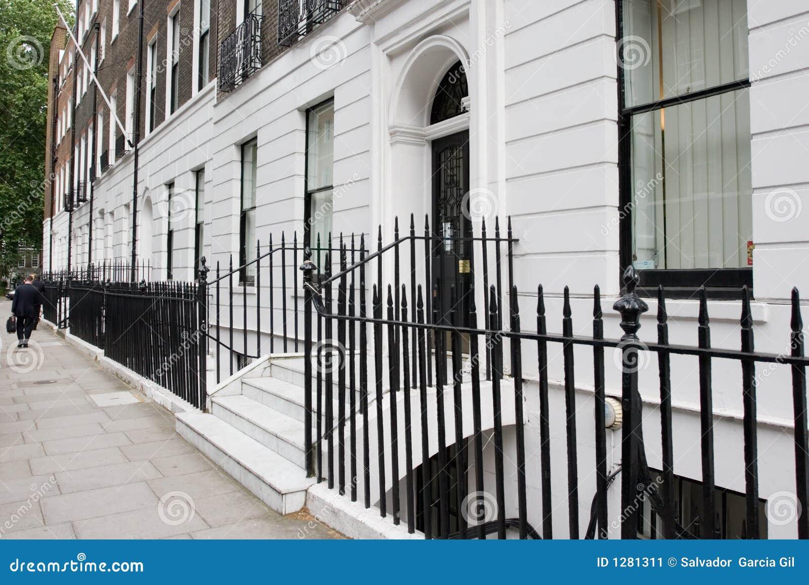 Calle típica de Londres