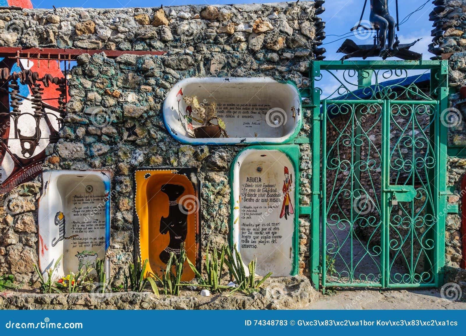 Callejon De Hamel In Havana, Cuba Editorial Stock Photo - Image of
